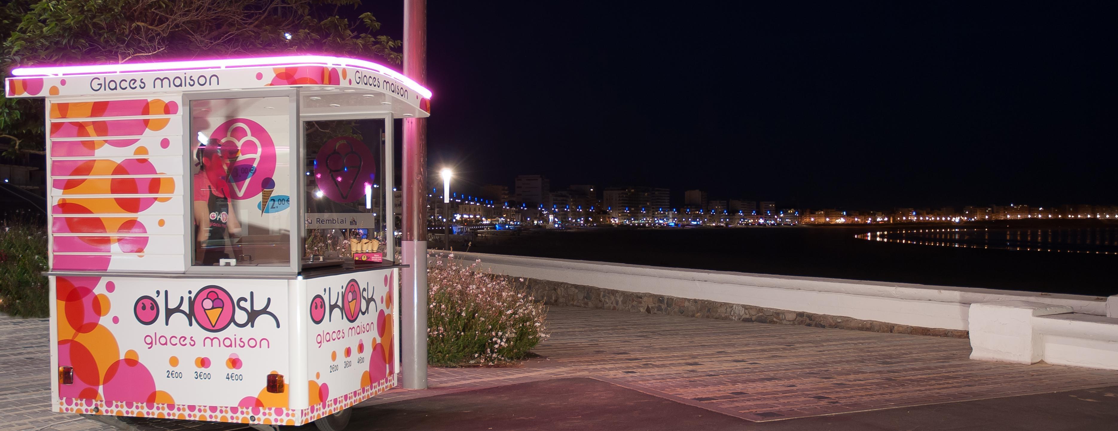 O'kiosk : les meilleures glaces des Sables d'Olonne