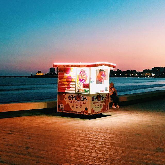 Okiosk glaces maison : les kiosques à glace des sables d'Olonne